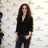 Malú durante un acto de Swarovski en Madrid