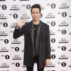 Nick Grimshaw en los Teen Awards 2015