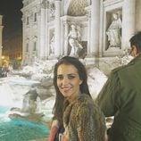 Paula Echevarría en la Fontana di Trevi en Roma