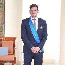 Iker Casillas recibe la Gran Cruz del Mérito Deportivo