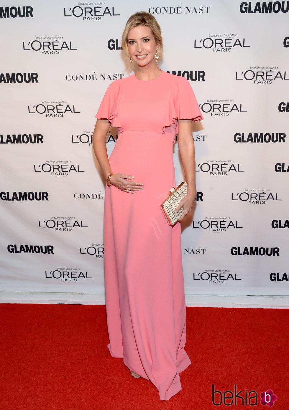 Ivanka Trump en los premios Glamour Mujer del Año 2015