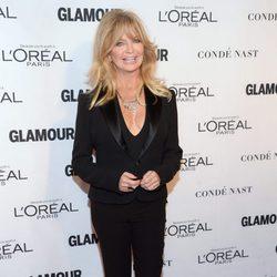 Goldie Hawn en los premios Glamour Mujer del Año 2015