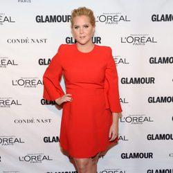 Amy Schumer en los premios Glamour Mujer del Año 2015