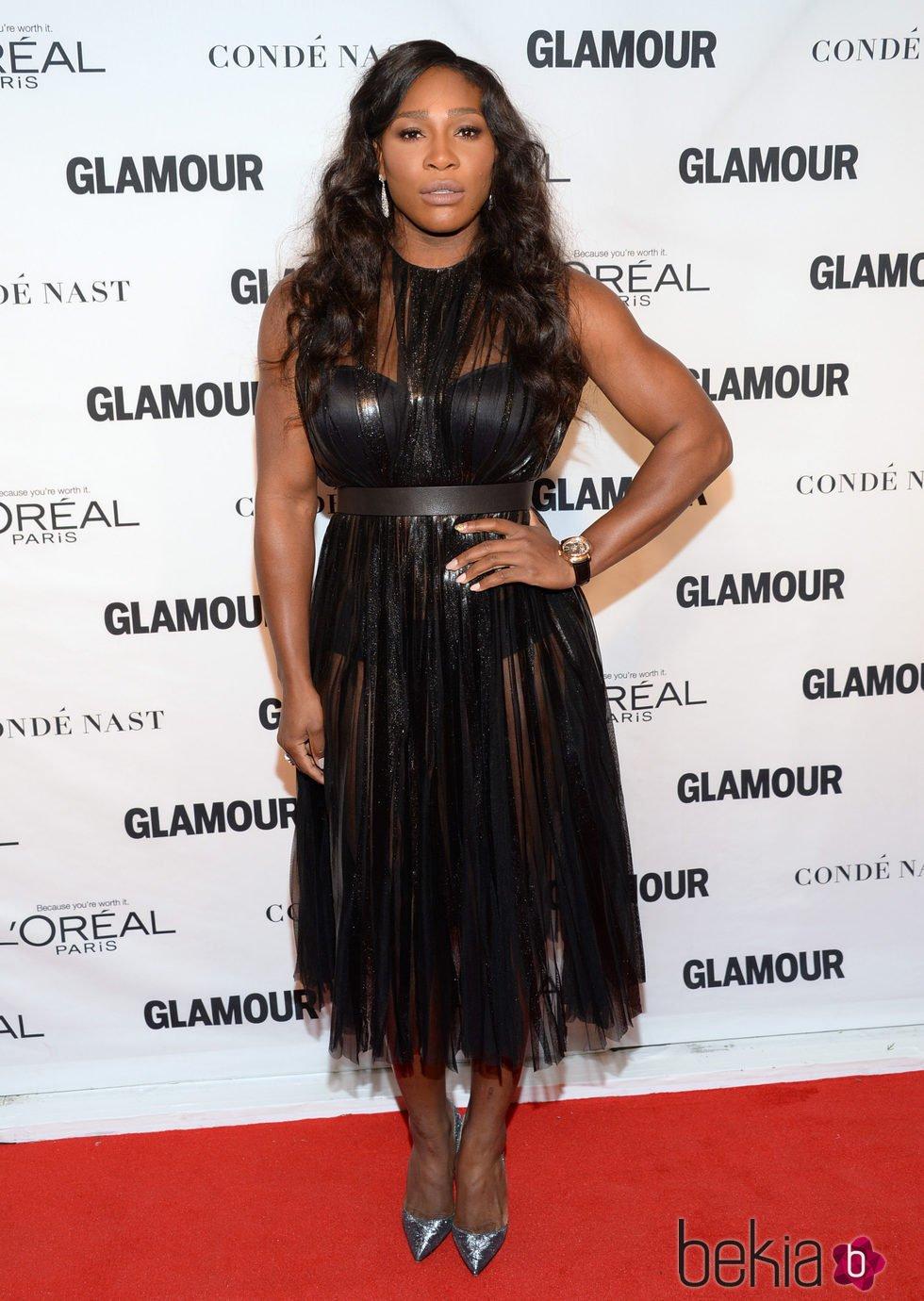 Serena Williams en los premios Glamour Mujer del Año 2015