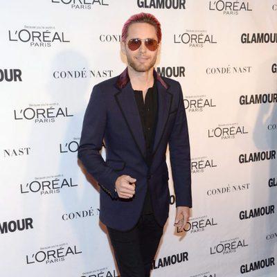 Jared Leto en los premios Glamour Mujer del Año 2015