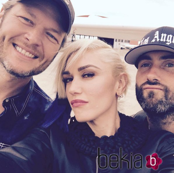 Blake Shelton, Gwen Stefani y Adam Levine de 'The Voice'