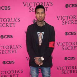 Tyga en el Victoria's Secret Fashion Show 2015