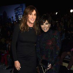 Kris Jenner y Caitlyn Jenner en el Victoria's Secret Fashion Show 2015