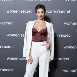Úrsula Corberó a su llegada al desfile de la colección 'Limited Edition' de Women'secret