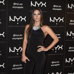 India Martínez en la presentación de una firma de cosméticos