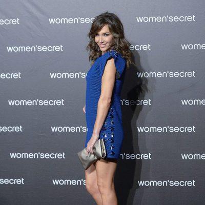 Paloma Lago a su llegada al desfile de la colección 'Limited Edition' de Women'secret