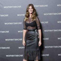 Desiré Cordero a su llegada al desfile de la colección 'Limited Edition' de Women'secret