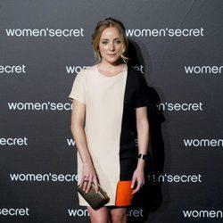 Ángela Cremonte a su llegada al desfile de la colección 'Limited Edition' de Women'secret