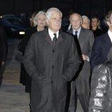 Alfonso Martínez de Irujo en el funeral del Infante Carlos