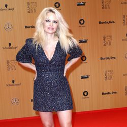 Pamela Anderson en los Premios Bambi 2015