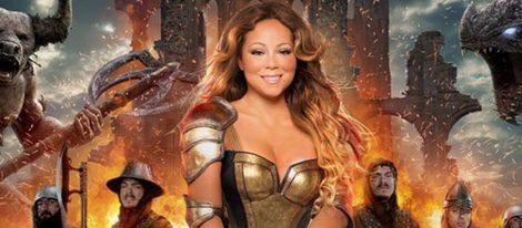 Mariah Carey, disfrazada de guerra sexy para la promo de un videojuego