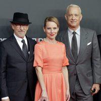Steven Spielberg, Amy Ryan y Tom Hanks estrenan 'El puente de los espías' en Berlín