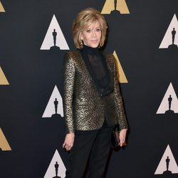 Jane Fonda en los Governors Awards 2015
