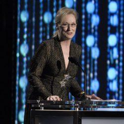 Meryl Streep en los Governors Awards 2015