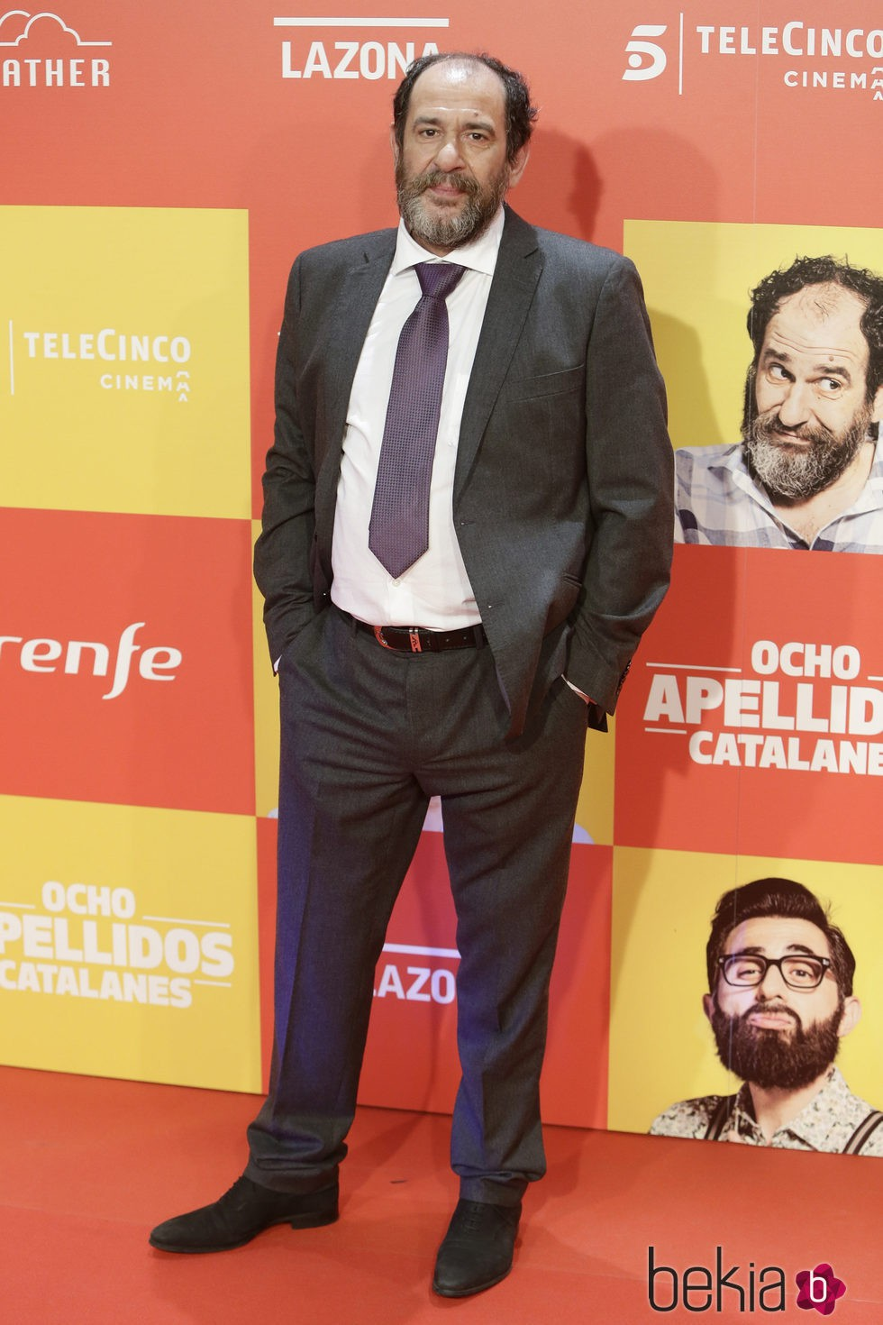 Karra Elejalde en la premiere en Madrid de 'Ocho Apellidos Catalanes'