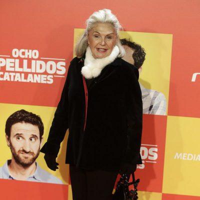 Beatriz de Orleans en la premiere en Madrid de 'Ocho Apellidos Catalanes'