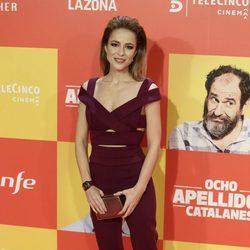 Silvia Abascal en la premiere en Madrid de 'Ocho Apellidos Catalanes'.