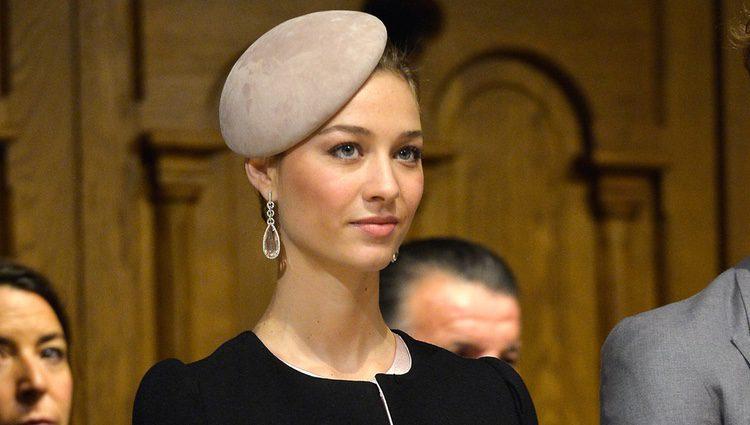 Beatrice Borromeo en el Día Nacional de Mónaco 2015