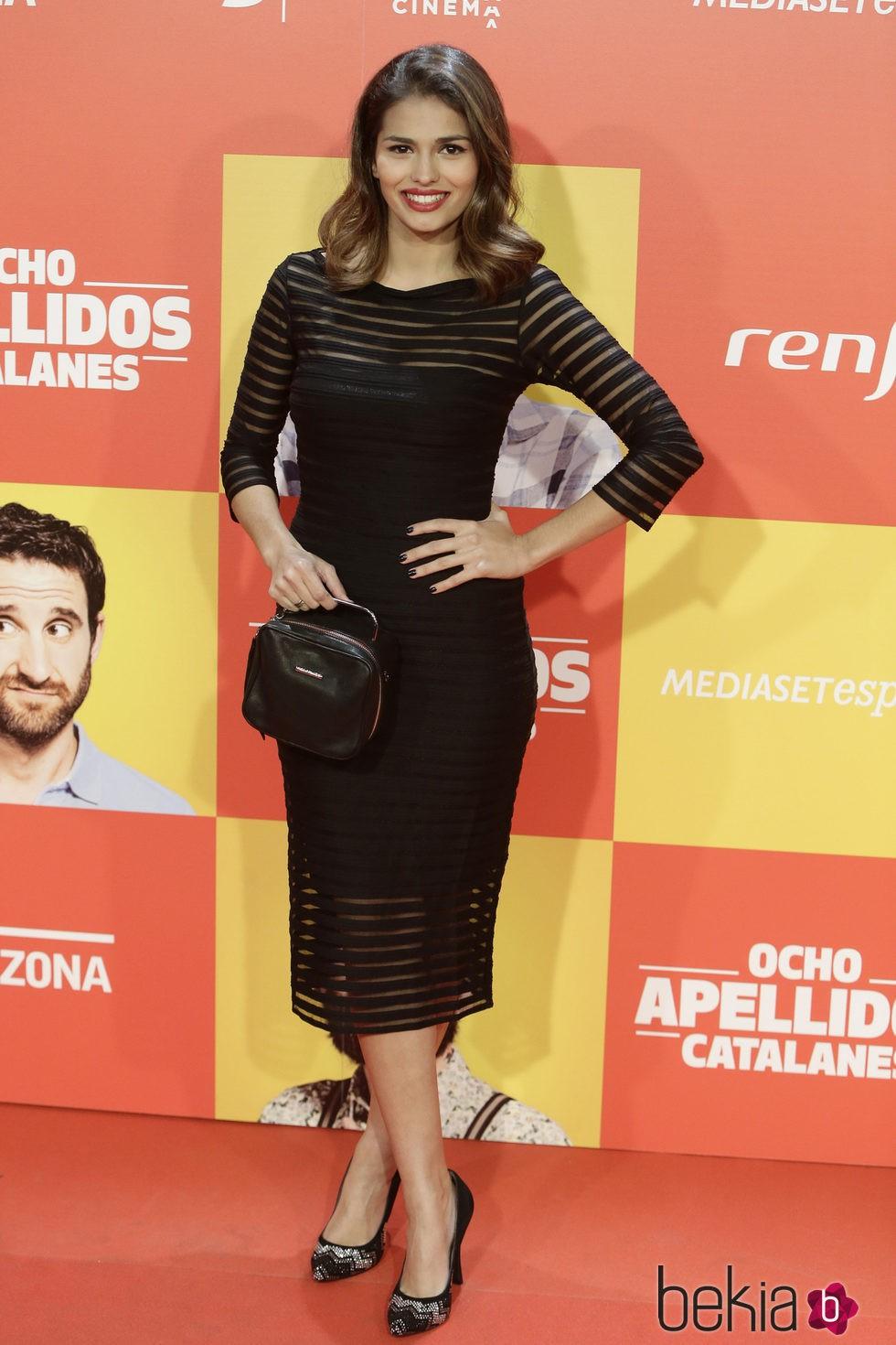 Sara Sálamo en la premiere en Madrid de 'Ocho Apellidos Catalanes'