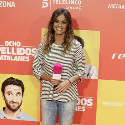 Lara Álvarez en la premiere en Madrid de 'Ocho Apellidos Catalanes'