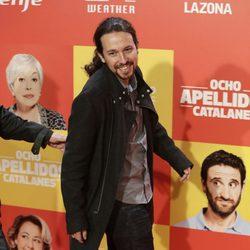 Pablo Iglesias en la premiere en Madrid de 'Ocho Apellidos Catalanes'