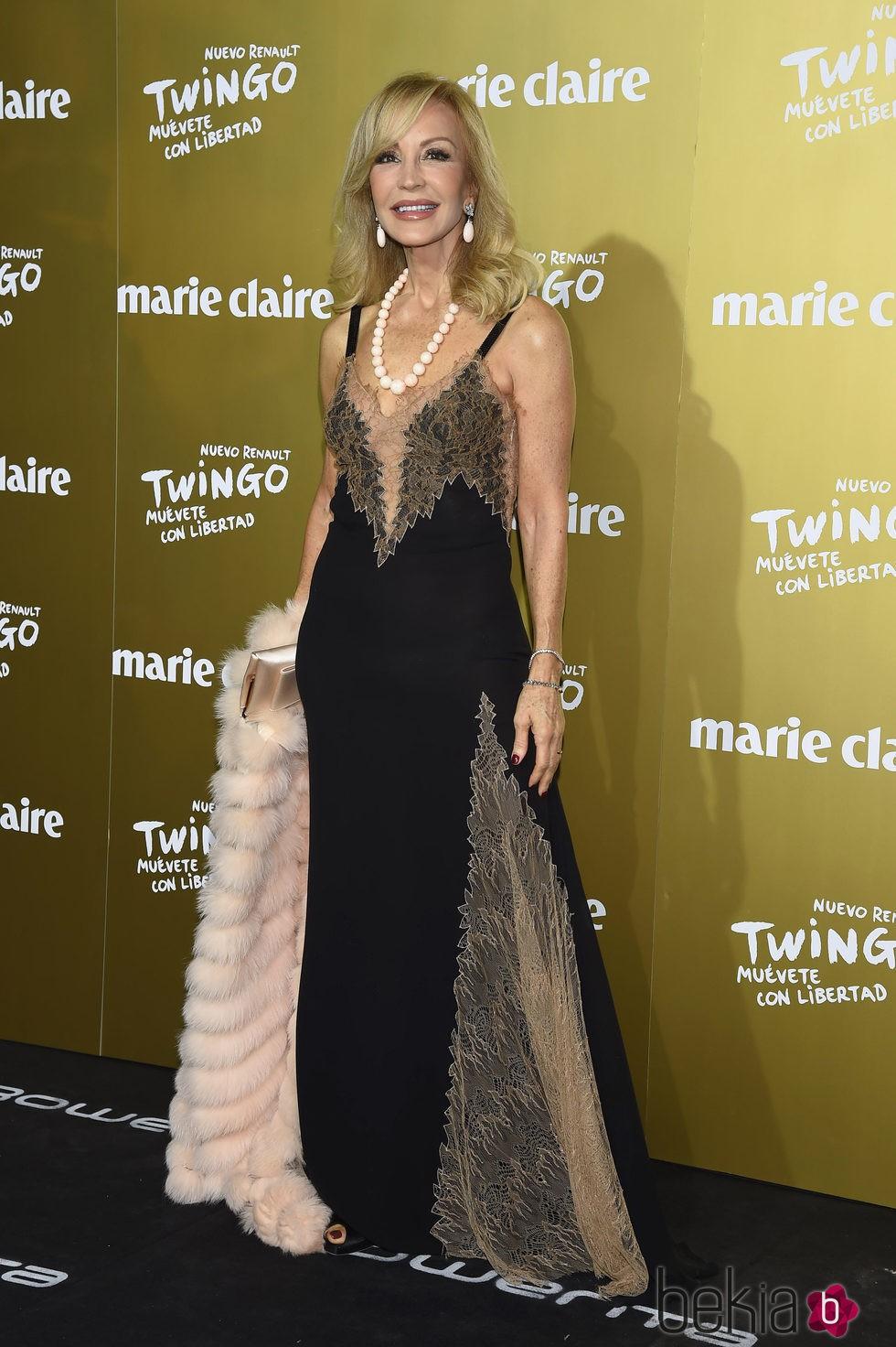 Carmen Lomana en los Premios Prix de la Moda Marie Claire 2015