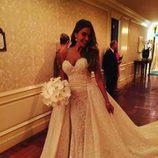 Sofía Vergara, sensacional con su su vestido de novia del diseñador Zuhair Murad