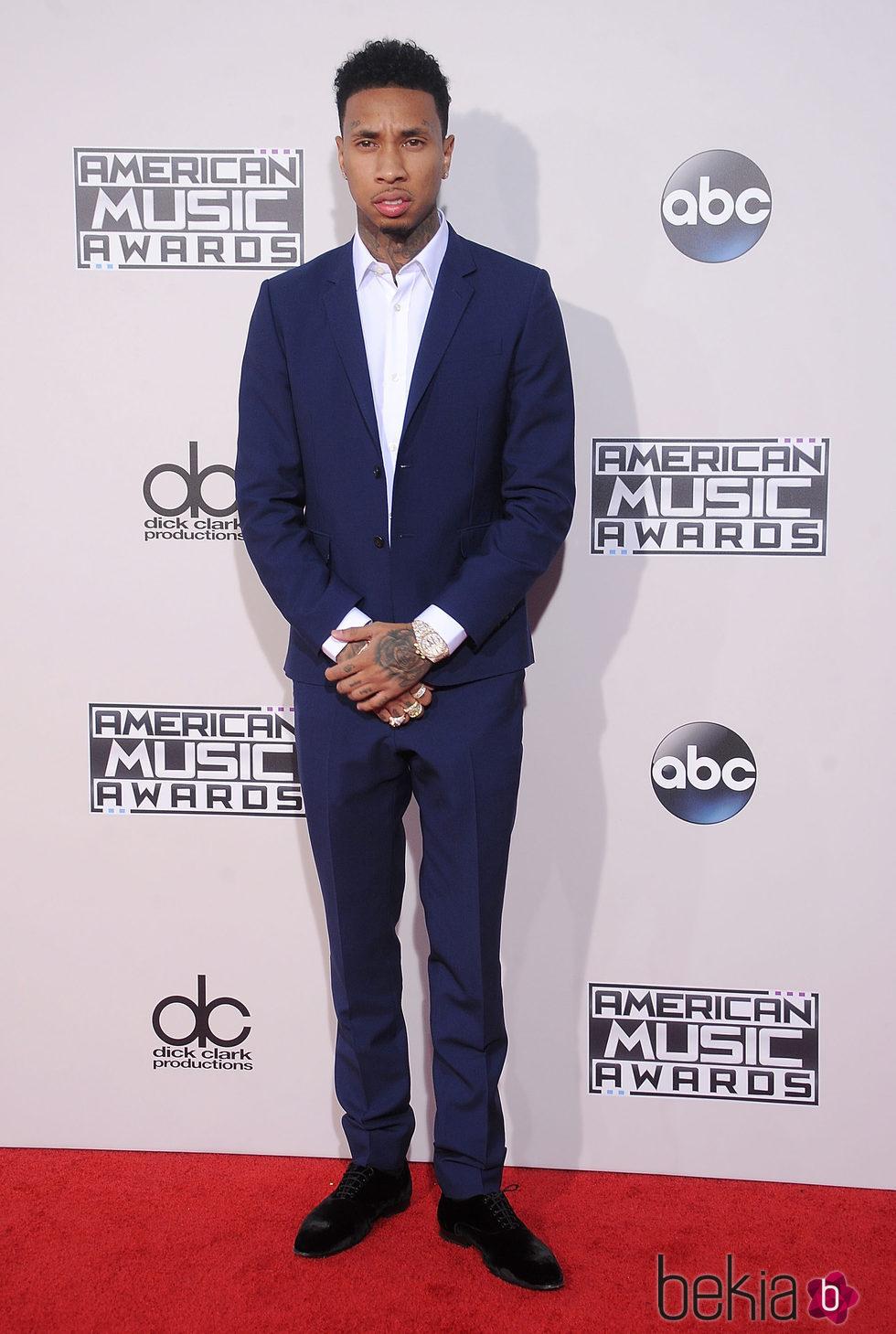 Tyga en los American Music Awards 2015