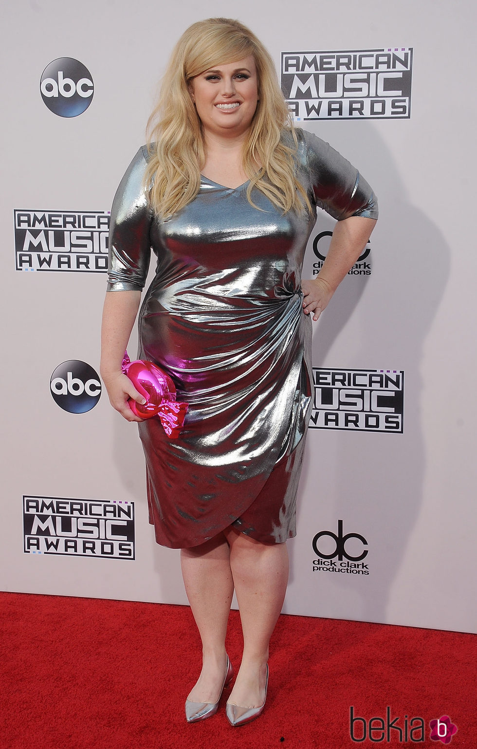 Rebel Wilson en los American Music Awards 2015