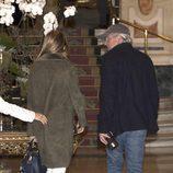 Richard Gere y su novia Alejandra Silva juntos en un hotel de Madrid
