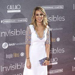 Alejandra Silva en el estreno de 'Invisibles' en Madrid