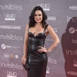 Eva Marciel en el estreno de 'Invisibles' en Madrid