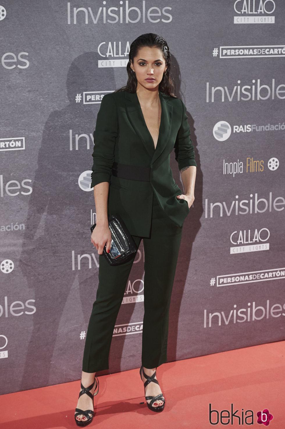 Michelle Calvó en el estreno de 'Invisibles' en Madrid