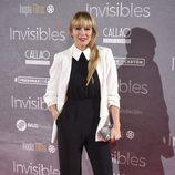Raquel Meroño en el estreno de 'Invisibles' en Madrid