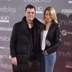 Fonsi Nieto y Marta Castro en el estreno de 'Invisibles' en Madrid