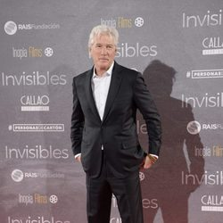 Richard Gere en el estreno de 'Invisibles' en Madrid