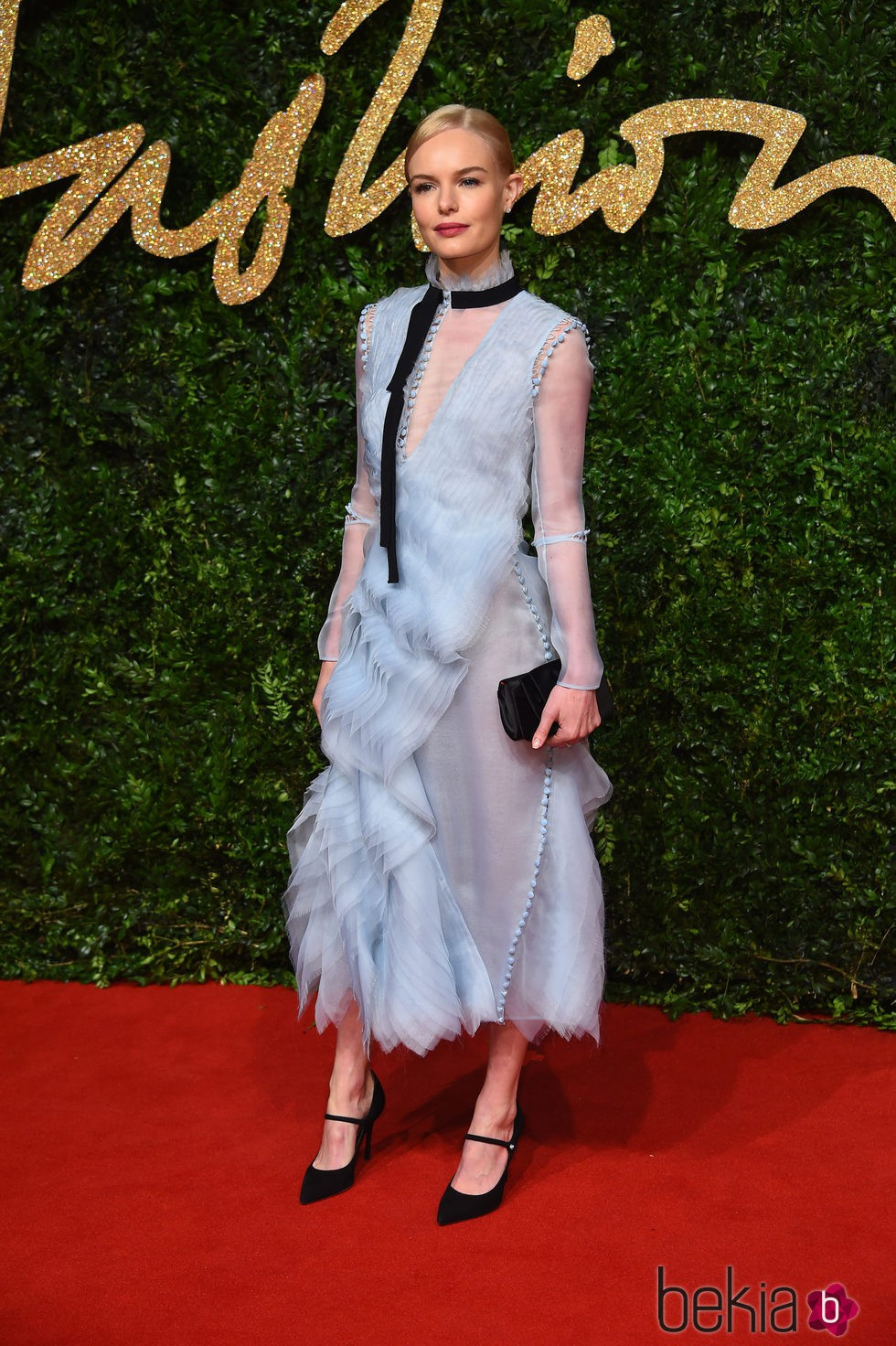 Kate Bosworth en los British Fashion Awards 2015