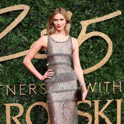 Karlie Kloss en los British Fashion Awards 2015