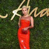 Lagy Gaga en los British Fashion Awards 2015