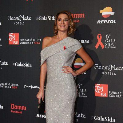Laura Sánchez en la Gala contra el Sida 2015 de Barcelona