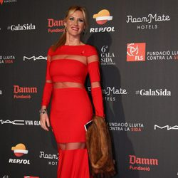 Alejandra Prat en la Gala contra el Sida 2015 de Barcelona