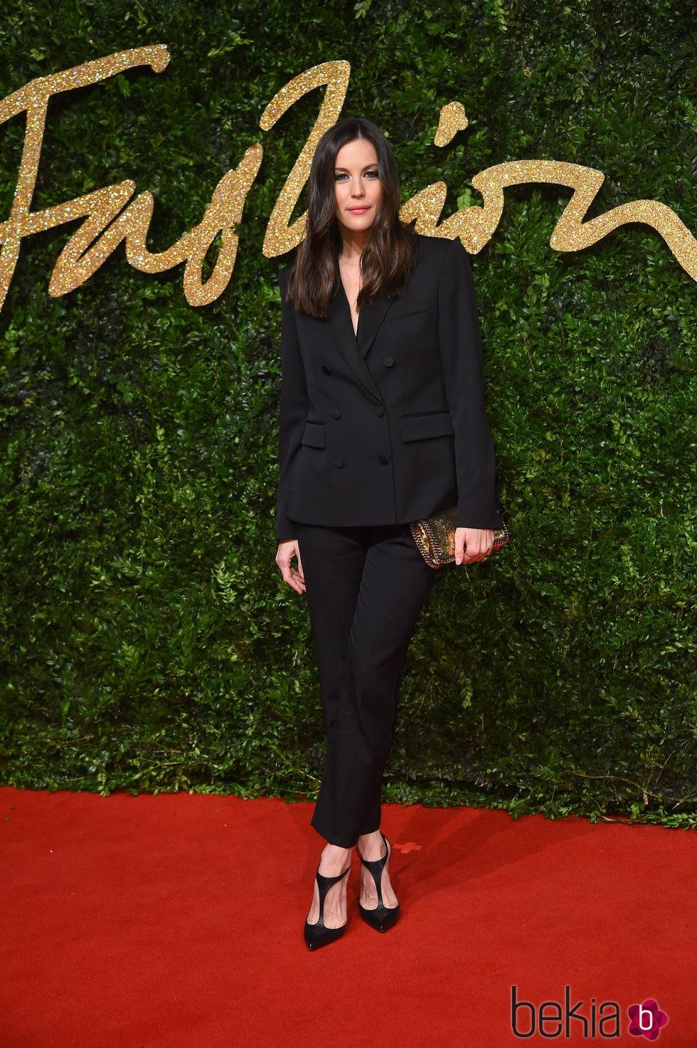Liv Tyler en los British Fashion Awards 2015