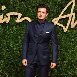 Orlando Bloom en los British Fashion Awards 2015