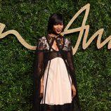 Naomi Campbell en los British Fashion Awards 2015