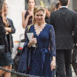 Renée Zellweger rodando una nueva escena de 'Bridget Jones'